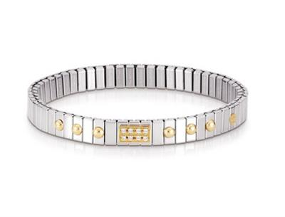 Buy Nomination Gold Dots CZ Extension Bracelet