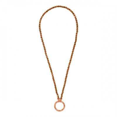 Buy Nikki Lissoni Brown Pyrite Necklace 80cm