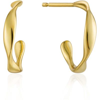 Buy Ania Haie Gold Mini Twist Hoops