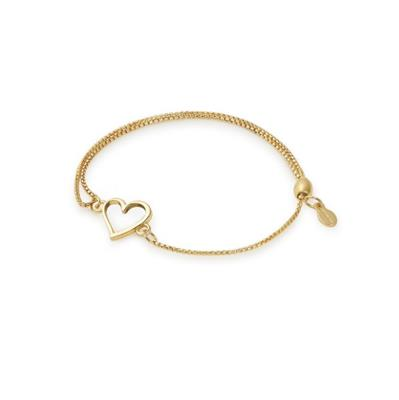Buy Alex and Ani Open Heart Precious Pull Chain Bracelet in Gold