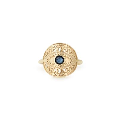 Buy Alex and Ani Evil Eye Ring in Gold