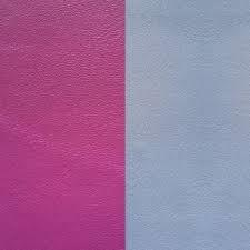 Buy Les Georgettes Wide Cerise / Ice Blue Leather
