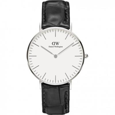 Buy Daniel Wellington Reading Silver Watch