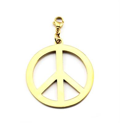 Buy ChloBo Gold Peace Pendant
