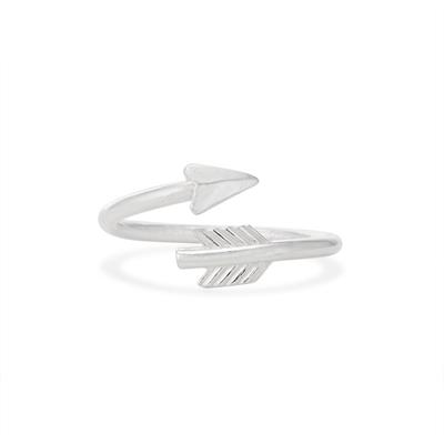 Buy Alex and Ani Lovestruck Arrow Ring in Silver
