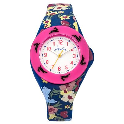 Buy Joules Floral and Pink Interchangeable Kids Watch