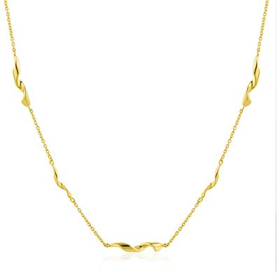 Buy Ania Haie Gold Helix Twist Necklace