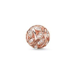 Buy Thomas Sabo Twines Rose Gold Karma Bead