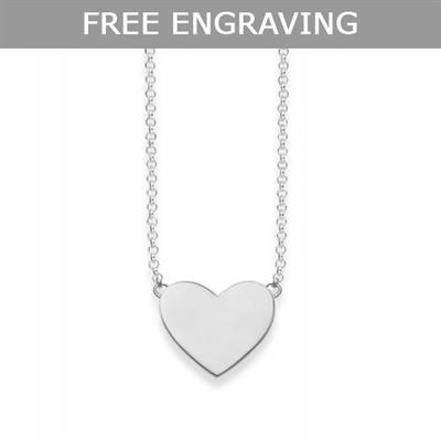 Buy Thomas Sabo Glam & Soul Engravable Heart Necklace