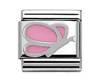 Buy Nomination Pink Butterfly Charm