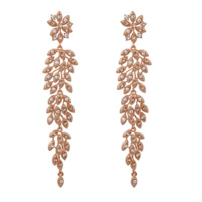 Buy Lily and Rose Laurel Rose Gold Drop Earrings