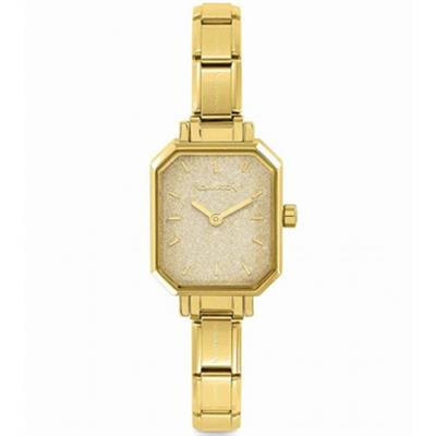 Buy Nomination Gold Glitter Dial Watch
