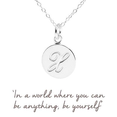 Buy X Mantra Initial Necklace