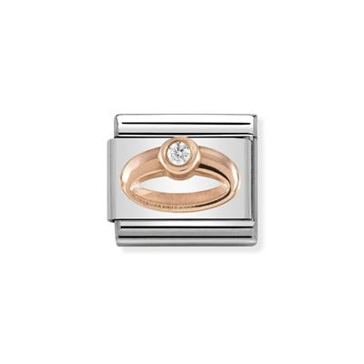 Buy Nomination Rose Gold Ring