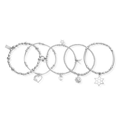 Buy ChloBo Inner Spirit Set of 5 Bracelets