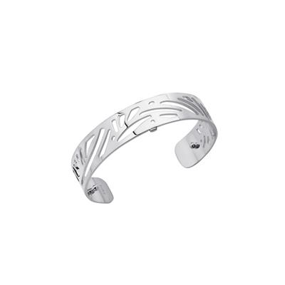 Buy Les Georgettes Silver Aloe Slim Cuff