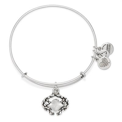 Buy Alex and Ani Crab bangle in Rafaelian Silver