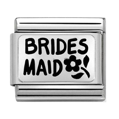 Buy Nomination Silver Bridesmaid Charm