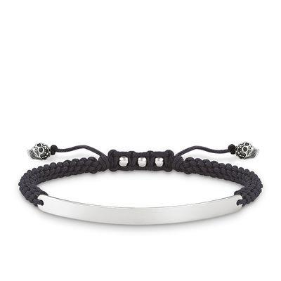 Buy Thomas Sabo Love Bridge Silver Skull Engravable Bracelet 21cm