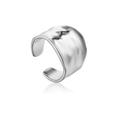 Buy Ania Haie Silver Crush Wide Ring