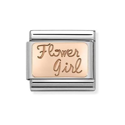 Buy Nomination Rose Gold Flower Girl Charm