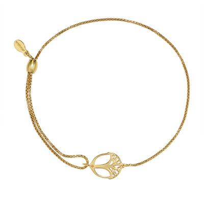 Buy Alex and Ani Unexpected Miracles Pull Chain Bracelet in Gold