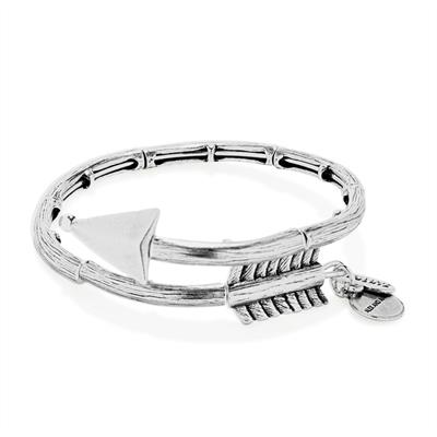 Buy Alex and Ani Lovestruck Arrow Wrap in Rafaelian Silver