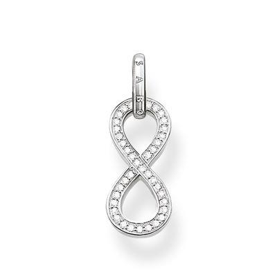 Buy Thomas Sabo The Eternity of Love Silver and CZ Infinity Pendant