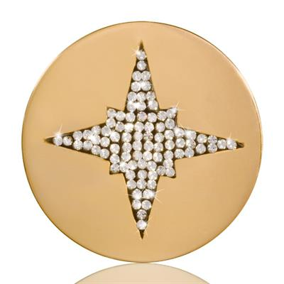 Buy Nikki Lissoni Starshine Gold Coin 33mm