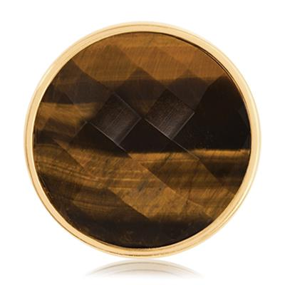 Buy Nikki Lissoni Gold Tigers Eye Coin 33mm