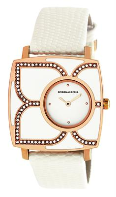Buy Bcbgmaxazria White Enamel Petal Watch