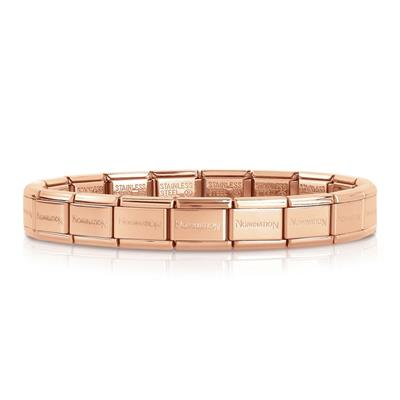Buy Nomination Classic Rose Gold Starter Bracelet
