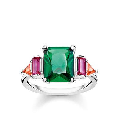 Buy Thomas Sabo Colourful Stones Ring 52