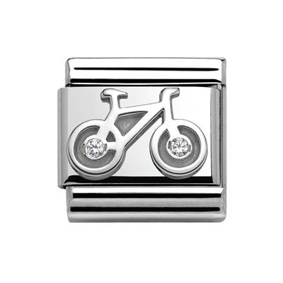 Buy Nomination Silver CZ Bicycle