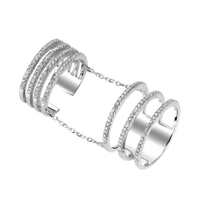 Buy Tresor Paris Metric Cage Ring Size N