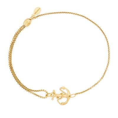 Buy Alex and Ani Anchor Precious Pull Chain Bracelet in Gold