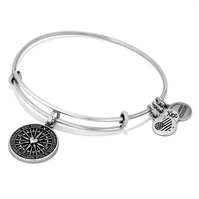 Buy Alex and Ani True Direction Bangle in Rafaelian Silver