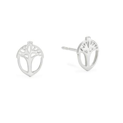 Buy Alex and Ani Unexpected Miracles Studs in Silver