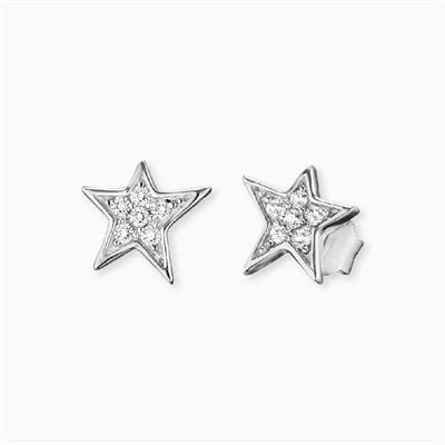 Buy Engelsrufer Silver CZ Star Studs