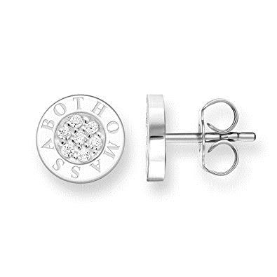 Buy Thomas Sabo Round Studs with Clear CZ