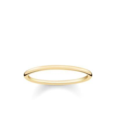 Buy Thomas Sabo Slim Gold Plain Ring 54