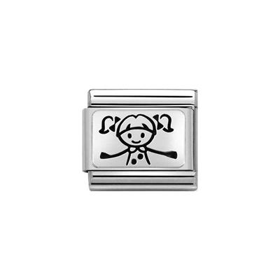 Buy Nomination Silver Girl Charm
