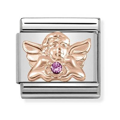 Buy Nomination Rose Gold Angel of Friendship Charm