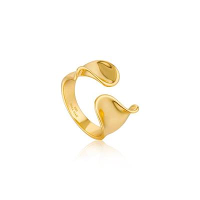 Buy Ania Haie Gold Wide Twist Ring