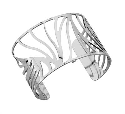 Buy Les Georgettes Silver Perroque Wide Cuff