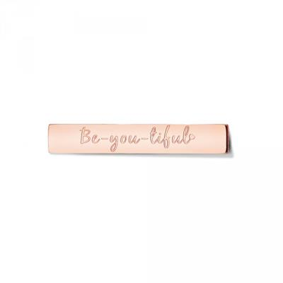 Buy Take What You Need Rose Gold Toned Be-you-tiful Bar