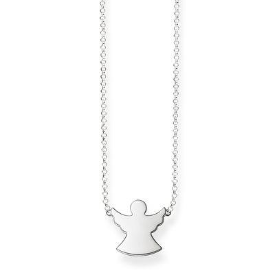 Buy Thomas Sabo Silver Guardian Angel Necklace