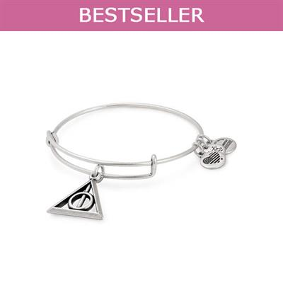 Buy Alex and Ani Harry Potter Deathly Hallows Bangle in Rafaelian Silver