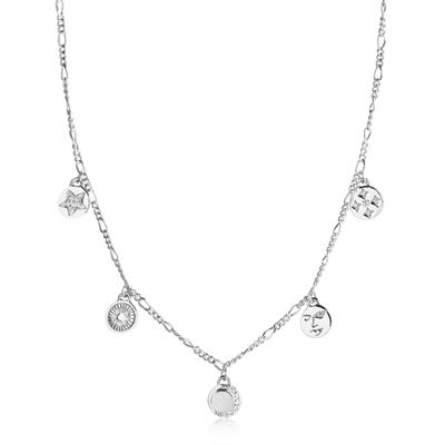 Buy Sif Jakobs Silver Portofino Multi Disc Necklace