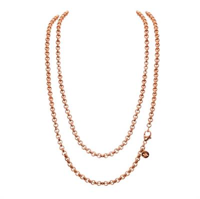 Buy Nikki Lissoni Rose Gold 90cm Chain